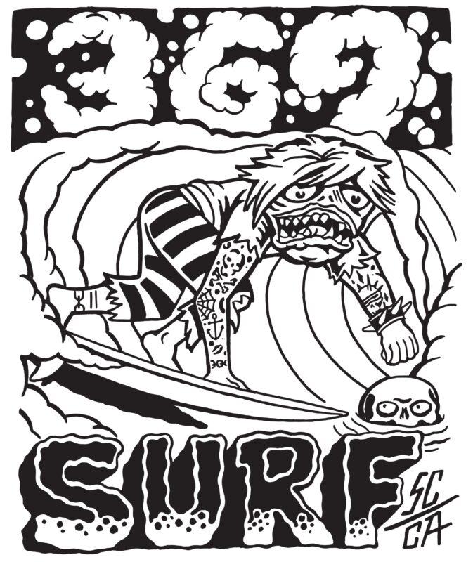 369 Surf Zombie